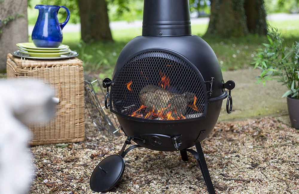 How to light a Chiminea Safely