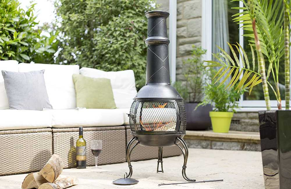 How to stop a chiminea smoking?