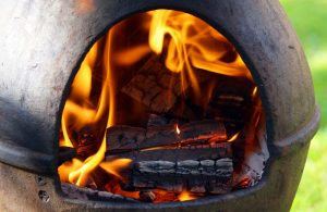What to burn in a chiminea