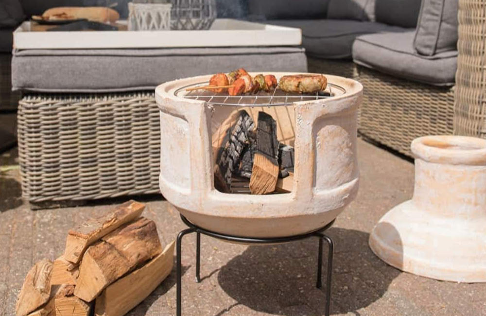 How to Cook on a BBQ Chiminea Grill